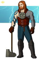 Thor by flashmcgee