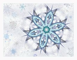 Snowflake Wallpaper by Beesknees67