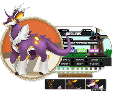 PKMNation: Basileus reff [ lvl 57 ] by Ignis-Abyssus-Ranch