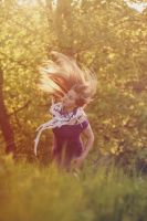 dancing hair, spring II by Zi0oTo