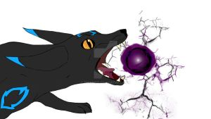 Umbreon Used Shadow Ball by Bwabbit