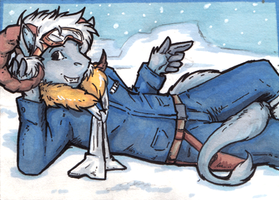 tauntaun boy by not-fun