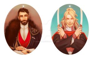 Viktor and Alexander by ramida-r
