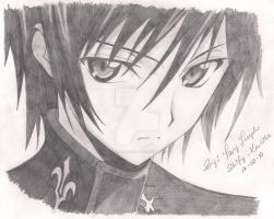Lelouch Lamperouge by AnuketKaustry