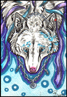 ACEO - Isamu by HowlingWolfSong