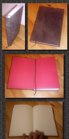 Old Leather Sketch Book by mbah