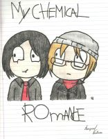 MCR- Mikey and Gerard by FamilyGayFanGirl