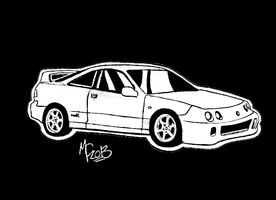 Acura Type-R Integra by CrashyBandicoot