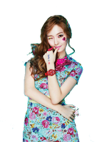 SNSD Jessica Kiss Me Baby-G Casio ~PNG~ by JaslynKpopPngs