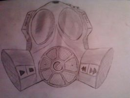 Music Gas MASK by galis33