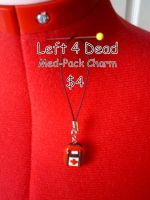 Left 4 Dead Med Pack Charms by CynicalSniper