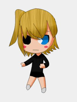 Chibi Forgetful Emily by MMD1lover1