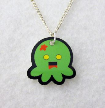 Zombie Octopus Necklace by egyptianruin