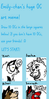 big ginormous meme i filled by kitoridragoness