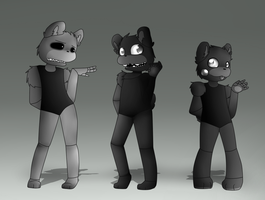 Single Ladies FNAF by YiyiArt025