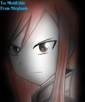 Erza Scarlet_Fairy Tail by blitzpro2009