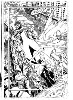 Dr.STRANGE pencils pag.1 by PinoRinaldi