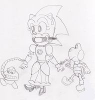 Princess Sonic: The NEW Peach? by ClassicSonicSatAm