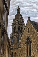 church1 of St Benoit Sarthe France by hubert61