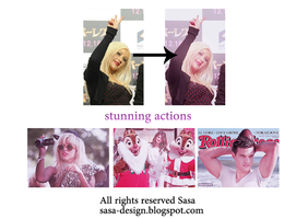 stunning actions by sasa-92