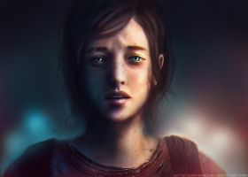 The Last Of Us: Ellie Realism Concept by Eddy-Shinjuku