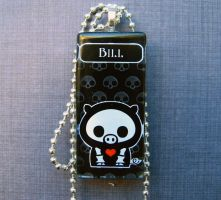 Bill skelanimals necklace by AngelElementsEtsy