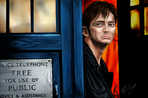 Tenth Doctor by BekaValentine