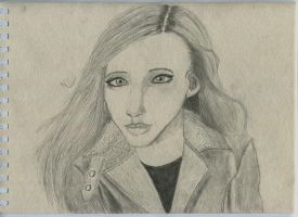 Leather Jacket Girl by nicho1991