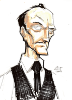 DSC 012813 - Alfred Pennyworth by GilTriana