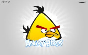 Angry Birds - yellow by abardaad