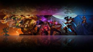 League of legends wallpaper - Ionia 2 (black) by Desorienter