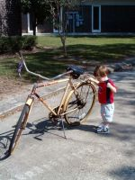 cycle and child by Joana-Jette-Samir