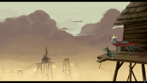 Land of Wandering Winds by draktau