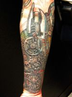 mechanical arm 5 by justinstattoos