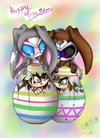 Happy Easter 2015 by BloodyPink-M