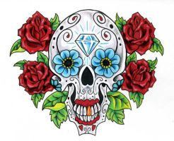 Sugar Skull by scottkaiser
