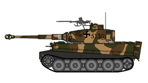 Finnish Tiger I concept by COLT731