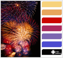 Firework Colorpallet by colorpallets