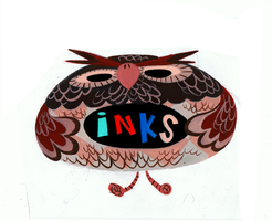 Inks Owl by Pocketowl