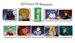 10 Future TF Requests by EarWaxKid