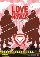 love no war by dylovastuff