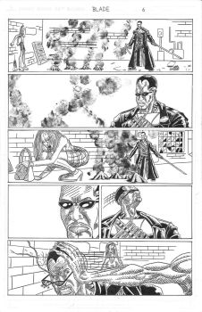 BLADE: THIRST page six by DanOlwell