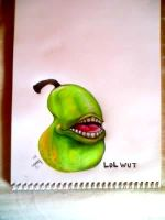 The LOL WUT Pear by StarvingArtist513