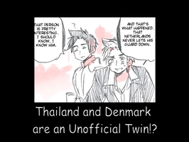 Hetalia: Thailand and Denmark are Twin by NihataYukiwa