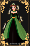 Loki Inspired Dress by thunderangel1987