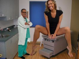 Mikayla with doctor by lowerrider