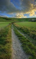 Long Track to the Long Man by wreck-photography