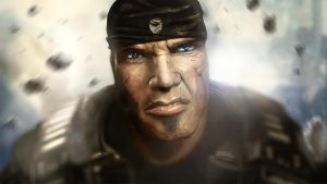 Marcus Fenix by akramsoliman