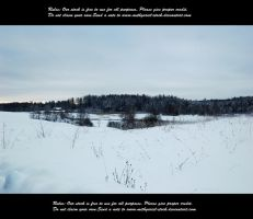 Winter in Estonia 5 by Mithgariel-stock