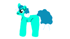 Wave Pony Adoptable - Closed by monkeylegs